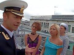 Admiral Rocco Siffredi and the girls
