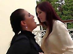 Fetish lesbian pee soaked