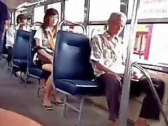 bus vrouw schreeuwen naar me