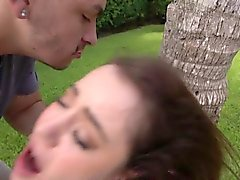 Young slut bounded outdoor drilled roughly