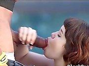 Schwarz Boner gefickt asian teen mit ihren großen Schwanz im Freien