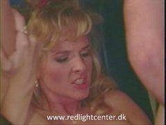 80er Jahre Mädchen genießen Sex im Flugzeug