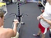 Nude schwarzen Hunk Galerien Homosexuell Fitness-Trainer bekommt rektale ba