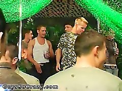 Old man gay suck and swallow party and gay group having sex