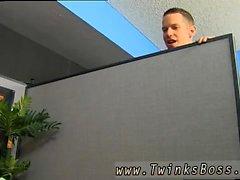 Homosexuell twink gapande röv movietures Bryan skiffertäckare Caught Runkar