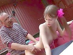 Amandas Große Brüste Natur Titten Jugendlich eins