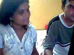 indisch -Cam- Paare