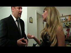 Patron Slutty iş arkadaşınız çıplak film kamera gizler