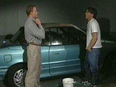 Maestro e Student Lavare l'automobile - e di altre cose