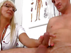 Marketa a naughty nurse milf sex with a patient