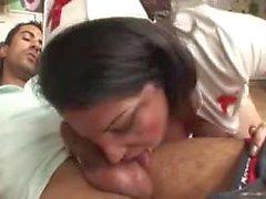 La enfermera Hetero sweet se encargará de usted