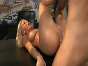 Bree Olson anal scene from Interactive Sex with Bree Olson bonus disc