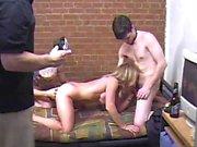 Carol in di Cox con i di due fan di sesso maschile , duro anale , e tanto divertimento !