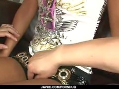 Rumika Asian Hardcore in den Arsch während oben anal
