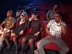 Suruba No Cinema Pornô sexe au cinéma