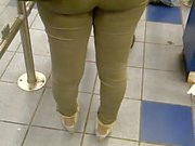 ass Phat pantalons serrés