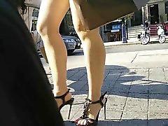 Candidi I piedi di estate shoeplay