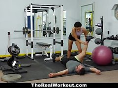 TheRealWorkout - Sexy Personal Assistant Fucks Client
