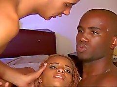 Bissexuais pretos muito Menina sexy e quente
