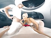RealityLovers Threesome Fuck in Outer Space Part 2