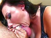 Seductive sluts sucking cock