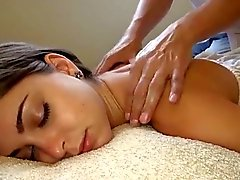 White girl getting the best massage ever! Riley Reid