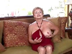 perverse granny gets horny
