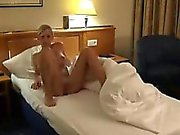Schöne blonde gefickt