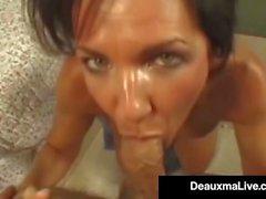 Техас Cougar Диаксма получает ее жесткие жопа ударилась жесткий петух!