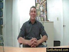 Erstaunlichen muskulös Stud Interview Teil 2