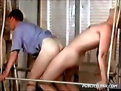 Vintage Twink Eşcinsel oral ve anal