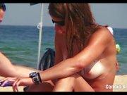 Candid Beach Spy Video Beach Voyeur HD