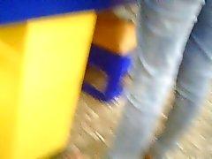 röv i jeans