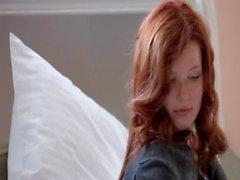 Incredible redhead tease soft skin