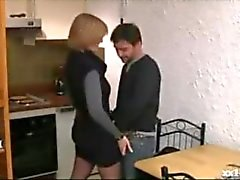 French milf is fucked hard