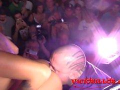 Venus Afrodita y Rob Diesel zeigen follando en SEMAD 2017