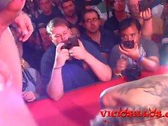 Venus Afrodita y Rob Diesel show follando en SEMAD 2017