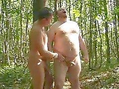 Zweier Ga Bären im Wald