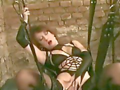 Bondage Slut Masterbating