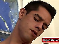 Big cock jack off and cumshot