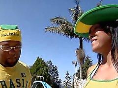Big ass Braziliaanse konten