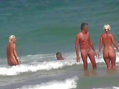 Blonde Milfs Bräunen Nackt am Strand HD Voyeur Spycam Video