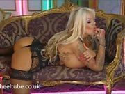 Candy charms huge tits stockings UK