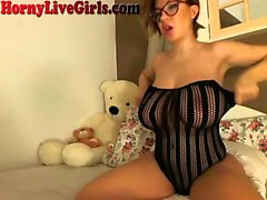 Huge Titty Webcam Girl Masurbates To Orgasm