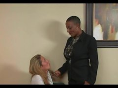 Mature Black Busty Boss And Her Secretary