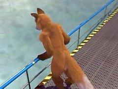 Taurin und die Wasser-Tentakeln von Taurin Fox