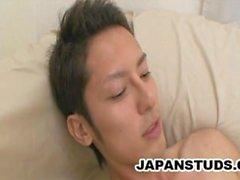 Tsuyoshi Hatanaka - Yakışıklı Japonya Stud Onun Boru mastürbasyon