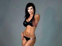 Denise Milani nel di lattice Bikini - base non nudi