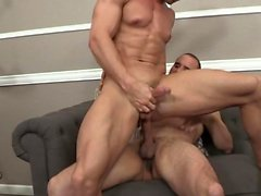Cumshot ile büyük dick gay anal seks