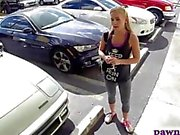 Car shopping teen gets a good deal after oral